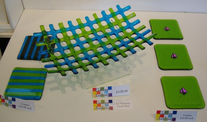 Fused Glass by Zoe Schoning
